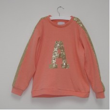 Sweater kids met paillettes